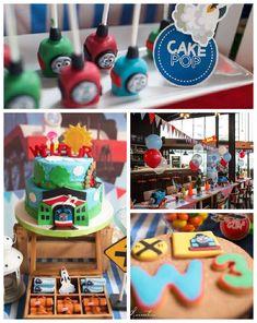 Thomas the Train themed birthday party via Kara's Party Ideas KarasPartyIdeas.com #thomastrainparty (1)