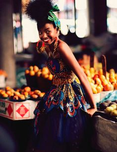 African Prints in Fashion: Style Spread: Elle South Africa