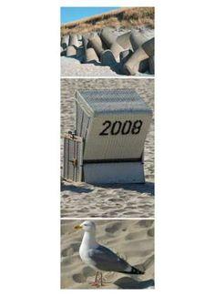Motivdruck Am Strand Papier