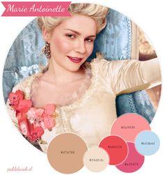 Color Palette Marie Antoinette Maria Antonieta