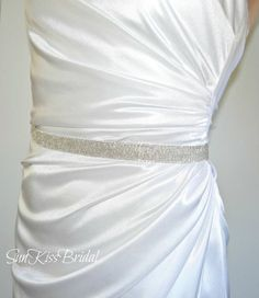 I could probably make something very similar to this for about $40 for all three of the bridesmaids. Or the other option is to use glitters ribbon, which would be much less, but also messier.