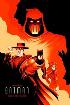 Batman:Mask of the phantasm Batman Poster, Batman Artwork, Batman Wallpaper, Comic Book Heroes, Comic Books Art, Comic Art, Batman Universe, Comics Universe, Batman Mask