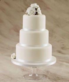 46 Simple Wedding Cake Ideas for Your Wedding Cakes Plain Wedding Cakes, Wedding Cake Images, Wedding Cake Fresh Flowers, Round Wedding Cakes, Fondant Wedding Cakes, Floral Wedding Cakes, Cool Wedding Cakes, Elegant Wedding Cakes, Wedding Cake Designs