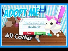 New Adopt Me Codes All Working Free Unicorn And More Roblox Inkjhczgrhw In 2020 Pet Adoption Certificate Coding Adoption