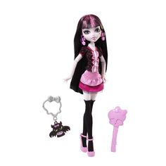 monster high doll pictures | New Monster High Doll Draculaura Classroom Fangoriffic Pet
