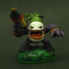 Skylanders Zook the Joker Theme Custom Miniature / Figurine