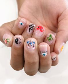 Outstanding nails ideas are offered on our web pages. Check it out and you wont be sorry you did. Edgy Nails, Aycrlic Nails, Funky Nails, Swag Nails, Hair And Nails, Nail Design Stiletto, Nail Design Glitter, Mens Nails, Finger