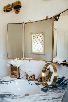 Waterworks R.W. Atlas Wall Mounted Double Arm Sconces #wallmountedbathroomfurnitureideas