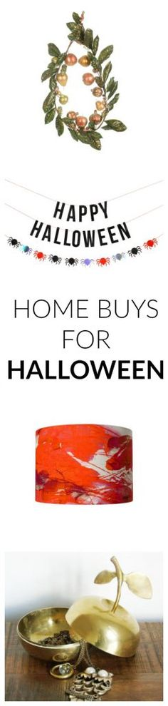 Homeware buys for Ha