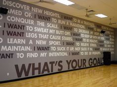 workout wall decals | Signs By Tomorrow Whitepaper | Custom Fitness Signs | Professional ...