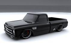 Bagged Trucks, Lowered Trucks, C10 Trucks, Mini Trucks, 67 72 Chevy Truck, Custom Chevy Trucks, Muscle Truck, Chevy Muscle Cars, Gas Monkey