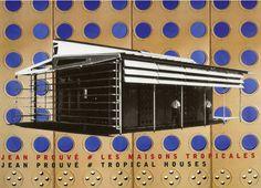 Les Maisons Tropicale, Jean Prouve, 1949 - 1951, Brazzaville, Kongo