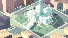 Some location backgrounds for the Powerpuff Girls... | Chris Turnham