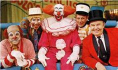 Sorry you are too young to have seen Bozo.  Maybe I'll try to find this show on DVD for you.