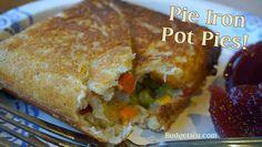Budget101.com - - Pie Iron Pot Pie- Awesome Camping Recipes