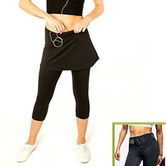 Workout Pants  Sunzel Womens Tights Yoga Running Capri Leggings Inner Pocket M Rose ** Be sure to check out this awesome product.