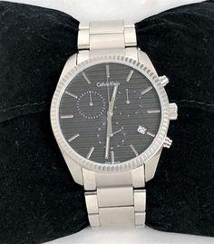 Calvin Klein Chronograph Quartz Edelstahl ID: Calvin Klein, Av, Michael Kors Watch, Chronograph, Rolex Watches, Quartz, Accessories, Fashion, Stainless Steel