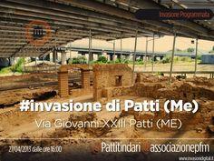 #InvasioniDigitali il 27 aprile dalle ore ore 16:00  Invasori: Pattitindari e Associazionepfm
