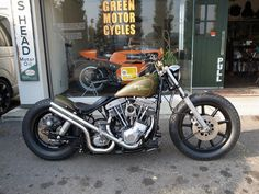 Shovelhead | Bobber Inspiration - Bobbers and Custom Motorcycles October 2014