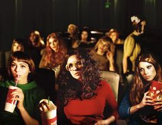Rachel and friends 2010 by Alex Prager