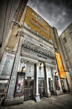 The Orpheum Theater, Boston.
