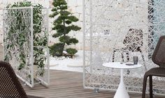 Chalk Patio Room Divider - Green by Dedon - FURNISHism