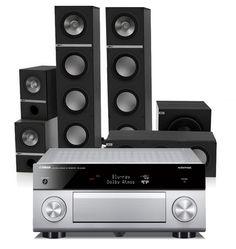 KEF Q-Surround-Set + Yamaha RX-A2060