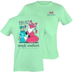 Make sure you head back to school in style with NEW Simply Southern Tees! New Simply Southern is now available in The Gift Shop! #shopdewaynes #simplysouthern #fall #backtoschool