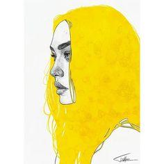 A simple warm up painting following up the yellow series ☺ | #tomaszmro #mrozkiewicz