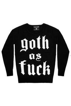 Goth Knit Sweater [B]