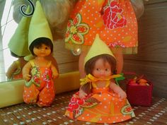La casa de Cloti Vintage Dolls, Decor, Dress, Home, Draw, Toys, Decorating, Dekoration, Deco