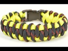 "Make the ""Genoese Piano Bar"" Paracord Bracelet - BoredParacord - YouTube"