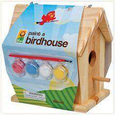 Cabane à Oiseaux à Peindre