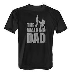 The Walking Dad - Herren T-Shirt von Fashionalarm Baby Kind, Mom And Baby, Funny Tshirts, T Shirts, Geile T-shirts, The Walking Dad, I Love My Dad, Baby Store, Dad Birthday