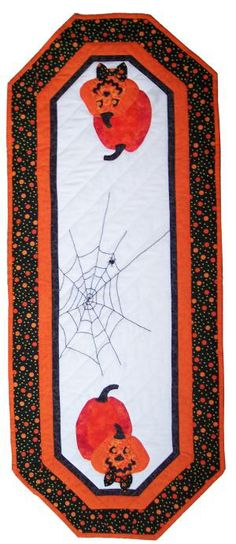 Jaunty Jacks Quilted Table Runner - Suzanne's Quilt Shop, Moultrie, GA