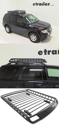 The monster of Cargo Baskets! Carry camping, hiking and other gear with ease in the Rola Roof Mounted Cargo Basket. Compatible with the Ford Escape and one of the top rated accessories for fit and function.