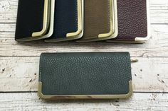 Glam Faux Leather Wallet-5 Colors!    Glamourous!    63% OFF