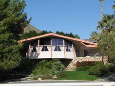 Palm Springs California   Home Tour  Mid Century Modern Expo
