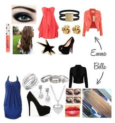 """""""Partying."""" by patricija-s ❤ liked on Polyvore featuring Max Factor, Christian Louboutin, Fornash, Giuseppe Zanotti, Alfani, Coach, Matthew Williamson, Forever 21, Topshop and Revlon"""