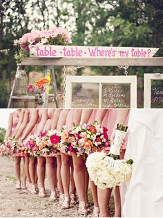 I designed these flowers.  It was a beautiful shabby chic wedding.