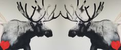 Marc Seguin Painting Miami Marc Seguin, Modern Art, Beast, Moose Art, Museum, Painters, Illustration, Miami, Animals