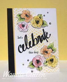 Let's Celebrate! by cullenwr - Cards and Paper Crafts at Splitcoaststampers