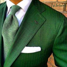 Irish green...