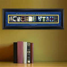 College Campus Art - McNeese State University Free Personalization – GiftsEngraved