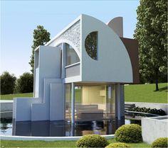 Casa projetada por Danielle Bellini e Luis Gustavo Bellini, do escritório Bellini Arquitetura, para A.M. Sartori. Esse ano os arquitetos ficarão responsáveis pela decoração do Quarto Masculino.