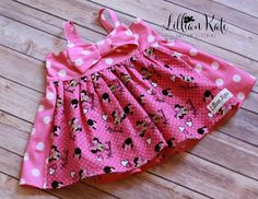 A personal favorite from my Etsy shop https://www.etsy.com/listing/255313160/pink-minnie-mouse-dress-minnie-mouse