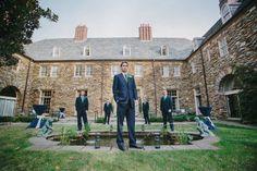 Groomsmen Ideas | Graylyn Estate, Elegant Fall Wedding | Logan Jarrard Photography | Leigh Pearce Weddings, Winston Salem North Carolina Wedding Planner