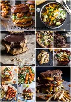 26 Of My Favorite Super Bowl Recipes from Tieghan Gerard at halfbakedharvest.com