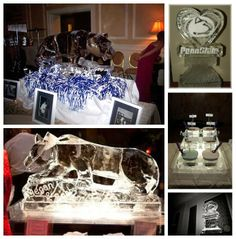 Wediquette and Parties: We Are...Getting Married- Penn State Wedding Ideas, Ice Sculpture Ideas