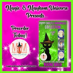 Squeeeee! The Poppy Carlyle Chronicles Collection by Boone Brux is now up for preorder!  #MagicMayhemUniverse #PNR #preorder #comingsoon #ebooks #magicaltales